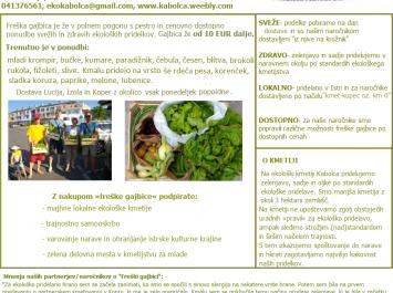 Ekološka kmetija Kabolca